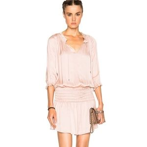 Ulla Johnson Olga Mini Dress in Rose Pink Size 4